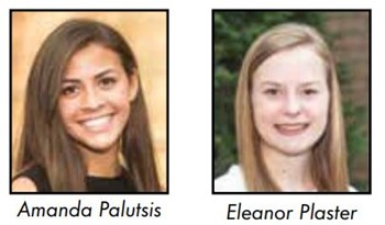 Palutsis and Plaster named National Merit Finalists