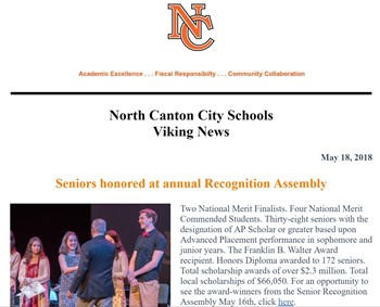 May 18th NCCS Newsletter