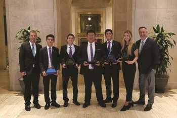 Beelieve, Inc., named National Student Company of the Year