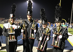 Hoover Band wins Louisville Band Competition
