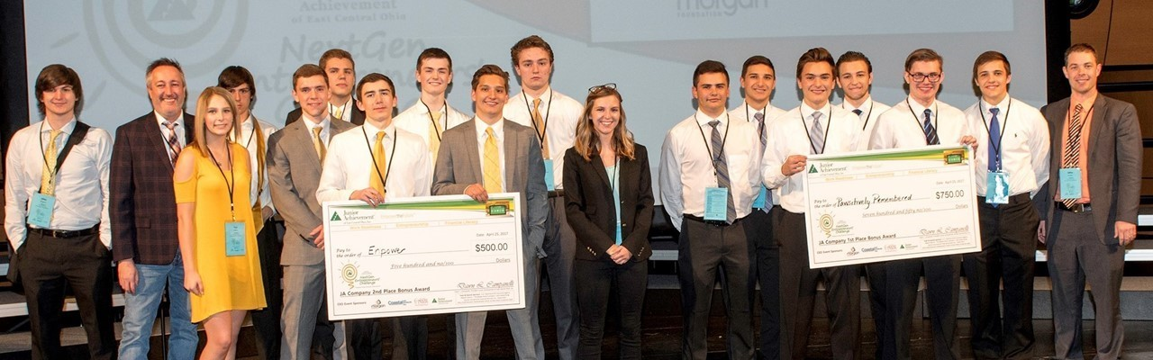 Winners of the Junior Achievement Competition