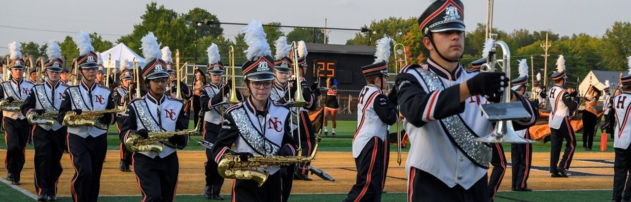 Hoover High School marching band