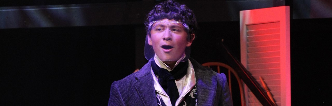 high school actor in Les Miserables